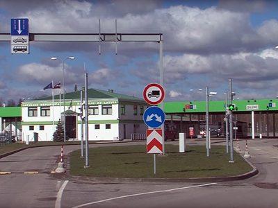 КПП на латвийско-российской границе привели в порядок