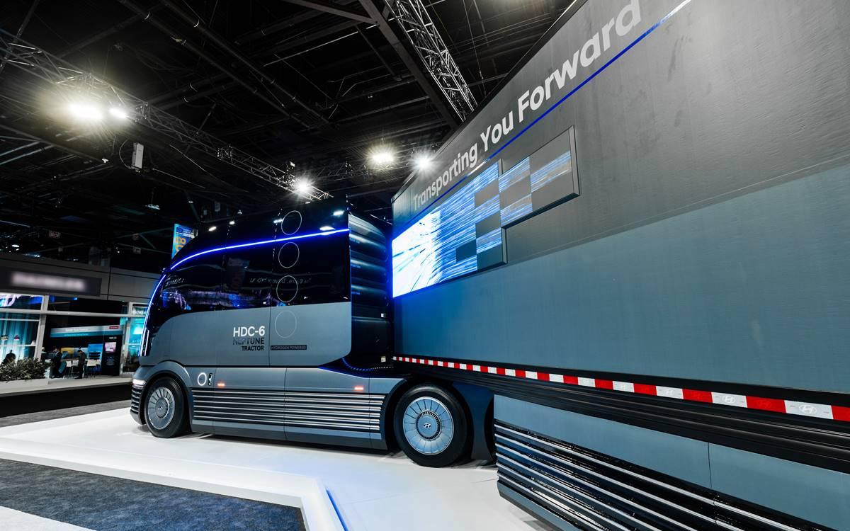 [Video] Noul model de camion de la Hyundai arată ca în filmele science fiction