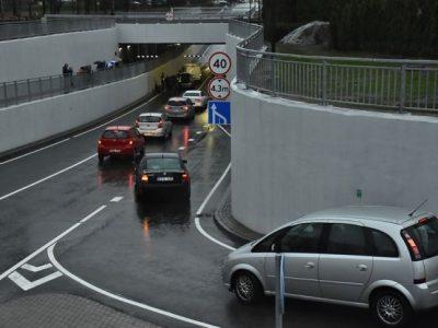 Plungėje atidarytas naujas tunelis po geležinkeliu