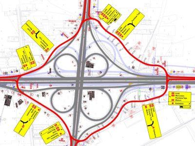 """Węzeł autostrady A1 zostanie zamknięty. W zamian wielkie """"rondo"""""""