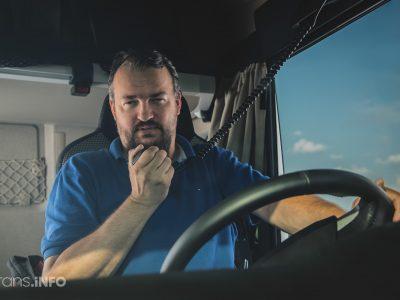 Kiek uždirba sunkvežimių vairuotojai Europoje?