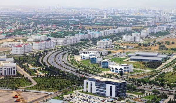 Turkmenistan: business, logistics and carpets in a country which is hard to get to.