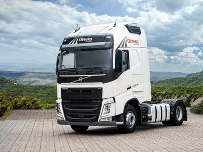 «Girteka Logistics» покупает 1,8 тыс. грузовых автомобилей. Таким образом ее парк будет составлять 8,8 тыс. грузовиков