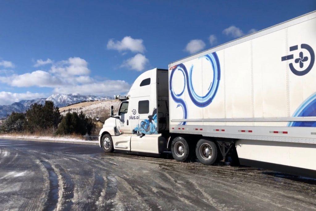 Több, mint 4.000 kilométer nem teljes három nap alatt emberi közreműködés nélkül. Ezek az eredményei az autonóm teherautó tesztjének (videó)