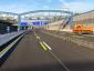 Autostradowy tunel w Hamburgu zamknięty nocą