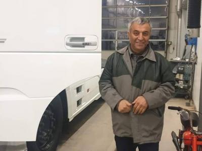 Irańczyk miał tą ciężarówką wrócić do domu. Niestety, pojawiła się nieoczekiwana przeszkoda