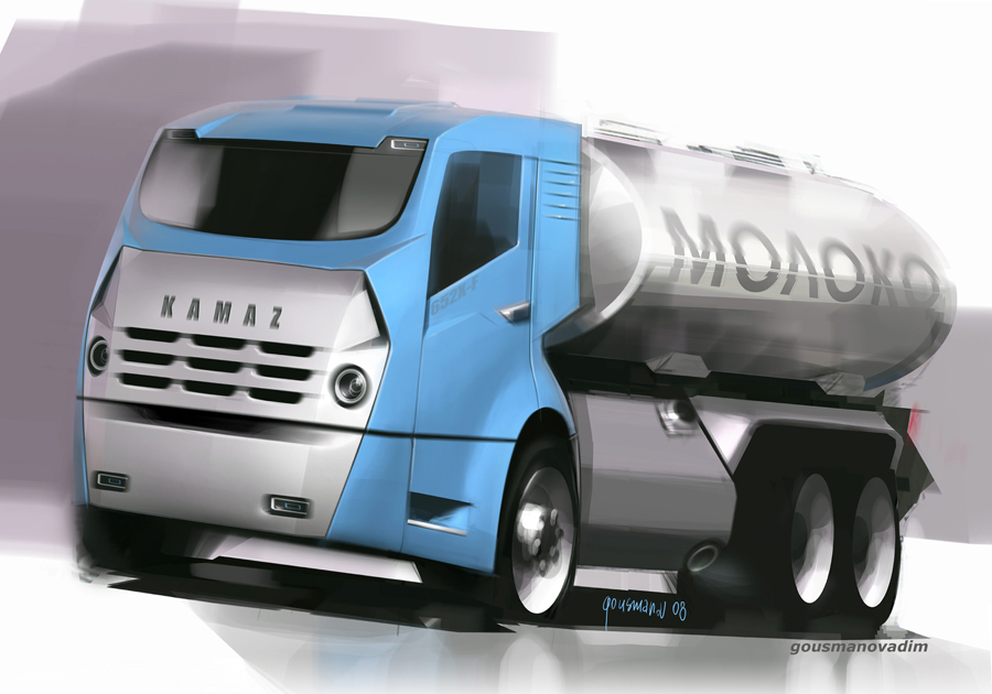 Futuristic Kamaz vehicles of 2009. Future has arrived, see if the visions turned out to be accurate.