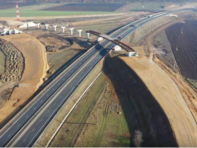 Stadiul lucrărilor pe Autostrada Sebeș-Turda. Mobilizarea este mediocră.