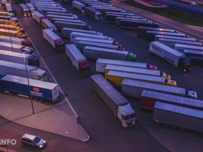 Sunkvežimių eismo apribojimai Italijoje 2020 m.