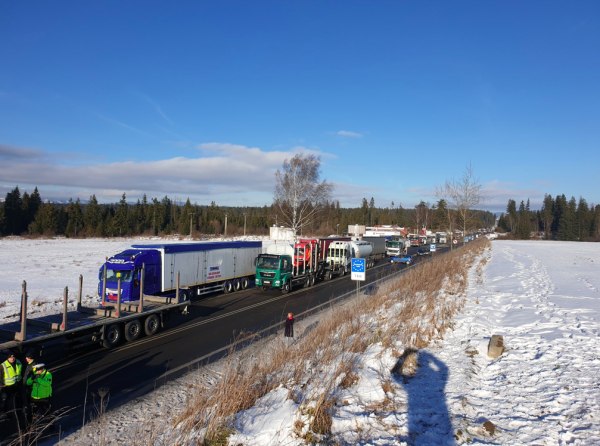 Protest of the Slovakian carriers: these are the blocked border crossings