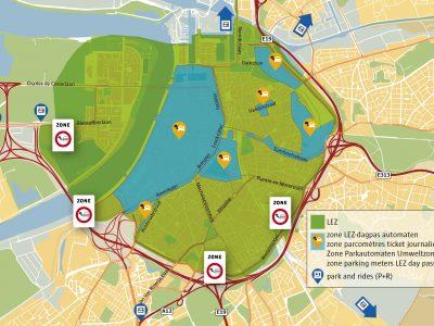 Антверпен ужесточил правила для зоны с низким уровнем выбросов