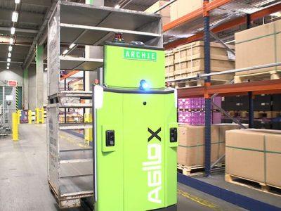 DB Schenker bringt autonomen und fahrerlosen Gabelstapler zum Einsatz