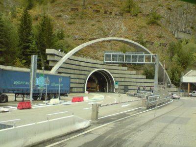 Ремонтные работы в Тоннеле Монблан в феврале 2020 г.