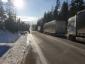 Ismét lezárták a határokat a szlovák fuvarozók