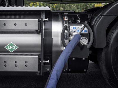 Gamtinėmis dujomis (SGD) varomiems sunkvežimiams Tirolyje apribojimai netaikomi