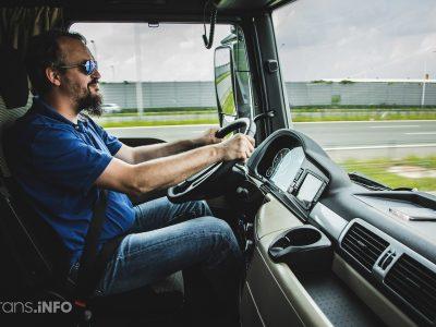 В России ограничили время управления грузовиками для физических лиц