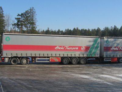 60-тонные 24-метровые грузовики, допущенные к движению в Норвегии