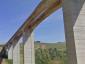 Cerrano viadukas Italijoje vėl pravažiuojamas sunkvežimiams