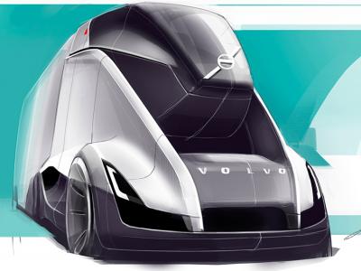 Грузовики Volvo через 20 лет. Посмотрите на концепцию молодого дизайнера