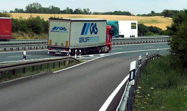 What is the difference between a forwarder and a carrier and what is a transport company under Germa