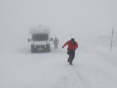 Alertă trafic: Cod roșu de ninsori și furtuni în Spania