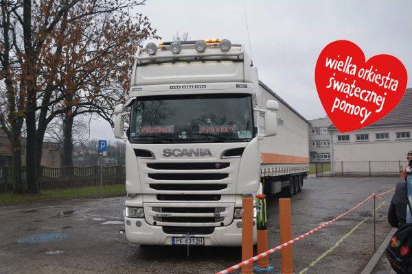 Konkurs na najlepszego kierowcę ciężarówki. Możesz wygrać, a przy tym pomóc WOŚP