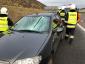 Dwa poważne wypadki z powodu lodu spadającego z ciężarówek