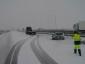 Hó Spanyolországban: 150 útszakasz zárva teherautók számára