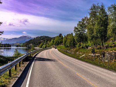 60-Tonnen-LKW mit 24 Metern Länge sind für den Verkehr in Norwegen zugelassen