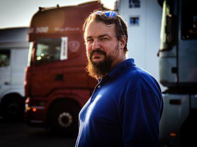 Danai įves minimalų atlyginimą užsienio sunkvežimių vairuotojams