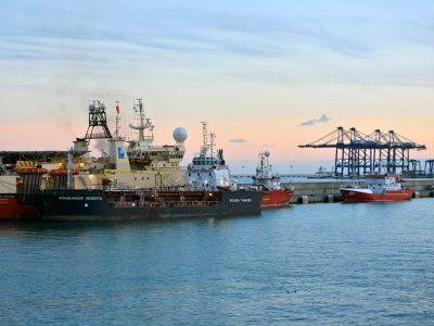 Farmers block this Spanish port on Wednesday