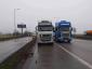 Poważne utrudnienia dla ciężarówek na Słowacji. Przewoźnicy kontynuują protest