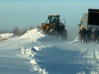 В Казахстане закрыли и ограничили движение на 23 участках автодорог республиканского и областного значения