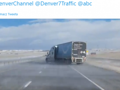 Watch out for strong winds! See what a powerful blow did to a truck in the US.
