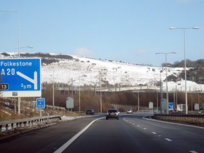 Operation Brock is over – traffic repossesses the main road to Dover and the Eurotunnel