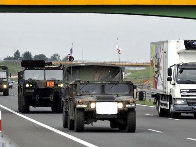 Przejazdy wojsk na międzynarodowe manewry spowolnią ruch na polskich drogach