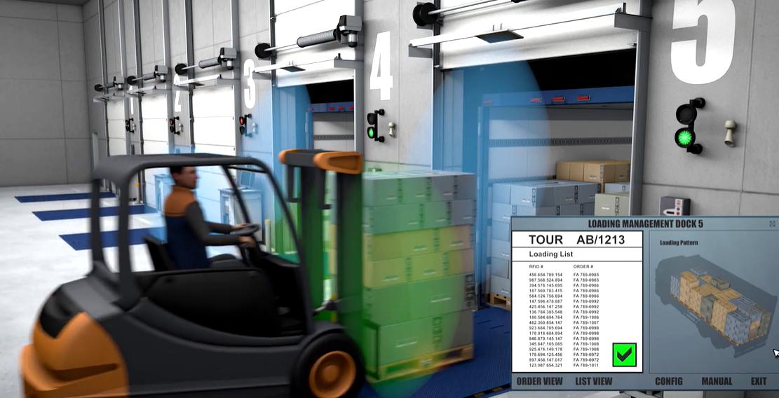 Pažiūrėkite, kaip naudojant RFID pagerėja tiekimo grandinė, visibility ir atsargų optimizavimas