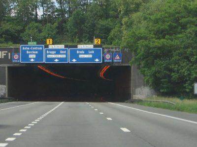 Kelio darbai 9 Belgijos tuneliuose. Kuriuo keliu negalėsite važiuoti ir kur numatyti aplinkkeliai?