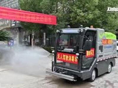 Egy önvezető teherautó segít a kínaiaknak a koronavírus elleni küzdelemben