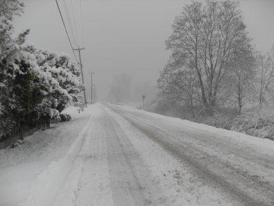 Vairuotojų dėmesiui: Lietuvos vakarinėje dalyje dėl sniego ribotas kelių eismas