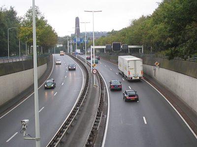 Выходные и ночные перекрытия на нидерландской автомагистрали