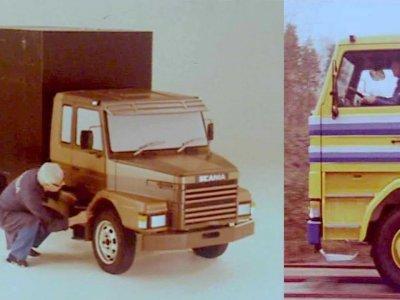 Scania: a rajzasztaltól a gyártósorig. Nézze meg, milyen utat kellett régen megtennie egy teherautónak [film]