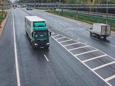 Временные весенние ограничения движения грузовых автомобилей в России в 2020 г.