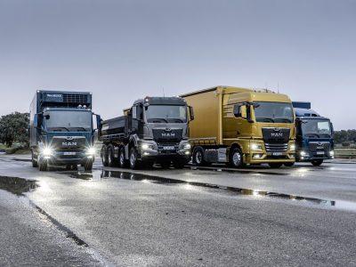MAN parodė pasauliui naujos kartos sunkvežimius. Pažiūrėkite nuotraukas ir premjeros reportažą