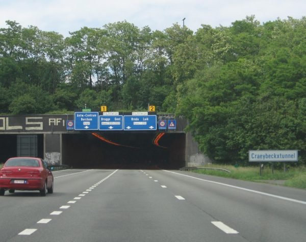 Road works in 9 Belgian tunnels. Check out which roads will be closed and how.