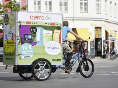 Memo AG realisiert emissionsfreie Same-Day-Lieferung mit Elektrofahrzeugen