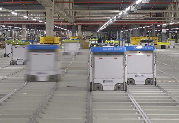 Ocado invests 600 million pounds into robotic warehouses