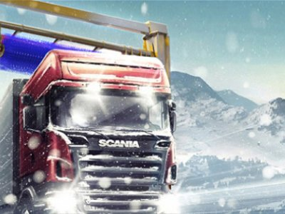 Introducing automatic snow cleaning system Durasweeper that effectively eliminates the problem of snow on rooftops of trucks and trailers