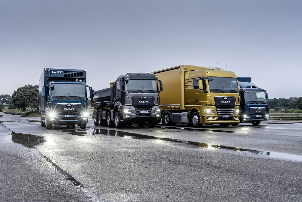MAN presented the new generation of trucks. Check out our photo gallery!