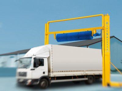Einführung des automatischen Schneereinigungssystems Durasweeper, das das Problem von Schnee auf den Dächern von Lastwagen und Anhängern effektiv beseitigt [ Anzeige]